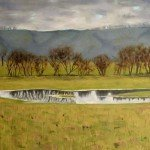 Flooded Meadow Oil on Canvas