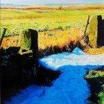 Last-of-the-Snow-II £325.00 Acrylic on canvas 16 x 20 framed