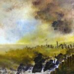 Battle-of-the-Somme - Acrylic on Canvas - 600 x 500 - framed - £295.00