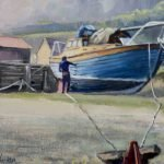 'Winter Maintenance' Oil on Canvas 14 x 10 Image size - Framed in Ash with white slip £340.00