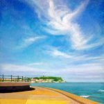 Scarborough South Bay - Acrylic on canvas